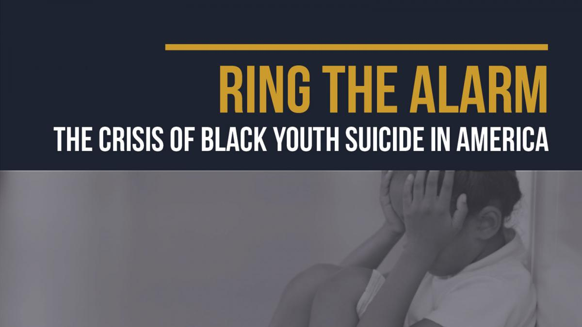 Ring the Alarm: The Crisis of Black Youth Suicide in America