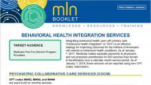 Behavioral Health Integration